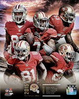 San Francisco 49ers 2015 Team Composite Fine-Art Print