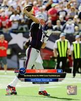 Tom Brady 400th Career Touchdown Pass September 27, 2015, in Foxborough, MA. Fine-Art Print