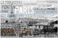 City Of Light Gray Fine-Art Print