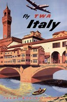 Fly To Italy Fine-Art Print