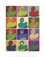 Pop Art Ducky Fine-Art Print