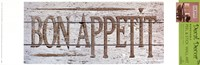 Vintage Signs - Bon Appetit I Wall Decal
