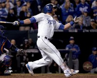 Alex Gordon Home Run Game 1 of the 2015 World Series Fine-Art Print