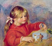 Claude Renoir at play, c.1905 Fine-Art Print