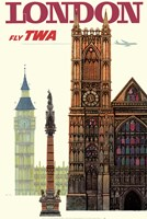 Fly to London Fine-Art Print