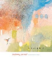 Hummingbird at Home 1 Fine-Art Print