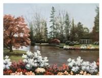Lakeside View Fine-Art Print