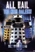 Doctor Who - All Hail The New Daleks Fine-Art Print