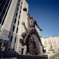 Michael Jordan Statue, United Center, Chicago Fine-Art Print