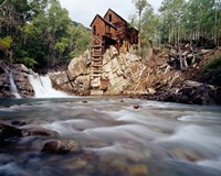 Old Saw Mill, Marble, Colorado Fine-Art Print