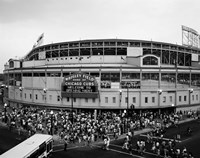 Wrigley Field, Chicago, Cook County, Illinois Fine-Art Print