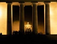 Lincoln Memorial, Washington DC (detail) Fine-Art Print