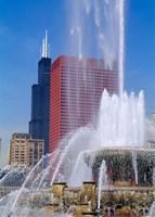 Buckingham Fountain, Chicago, Illinois Fine-Art Print