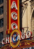 Chicago Theater Sign, Illinois Fine-Art Print