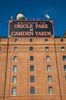 Oriole Park at Camden Yards, Baltimore, Maryland Fine-Art Print