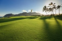 Golf Course, Kauai Lagoons, Kauai, Hawaii Fine-Art Print