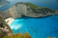 Shipwreck Bay, Zakynthos, Ionian Islands, Greece Fine-Art Print
