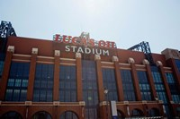 Facade of the Lucas Oil Stadium, Indianapolis, Indiana Fine-Art Print