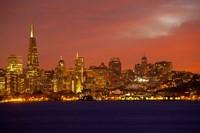 San Francisco Financial District at Dusk, San Francisco, California Fine-Art Print