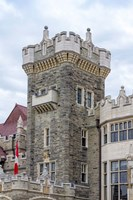 Tower on Casa Loma Castle, Toronto, Ontario, Canada Fine-Art Print