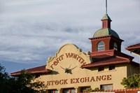 Fort Worth Livestock Exchange, Fort Worth, Texas Fine-Art Print