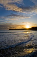 Beach & Great Newtown Head, Tramore, County Waterford, Ireland Fine-Art Print