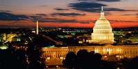 City at Dusk, Washington DC Fine-Art Print