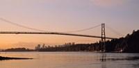 Vancouver, Lions Gate Bridge Fine-Art Print