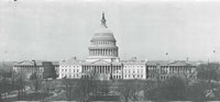 US Capitol, Washington DC, 1916 Fine-Art Print