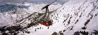 Ride over Snowbird Ski Resort, Utah Fine-Art Print