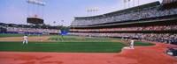 Dodgers vs. Yankees, Dodger Stadium, California Fine-Art Print