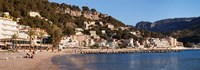 Playa d'es Traves Beach, Port de Soller, Majorca, Balearic Islands, Spain Fine-Art Print
