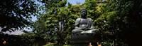 Buddha in Asakusa Kannon Temple, Tokyo Prefecture, Japan Fine-Art Print
