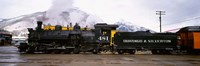 Steam Train, Durango and Silverton Narrow Gauge Railroad, Colorado Fine-Art Print