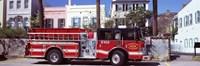 Fire Truck, Charleston, South Carolina Fine-Art Print