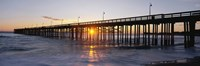 Ventura Pier at Sunset Fine-Art Print
