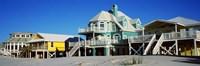 Beach Front Houses, Gulf Shores, Baldwin County, Alabama Fine-Art Print