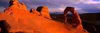 Mountains in Arches National Park, Utah Fine-Art Print