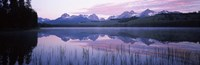Little Redfish Lake, Sawtooth National Recreation Area, Custer County, Idaho Fine-Art Print