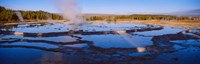 Great Fountain Geyser, Yellowstone National Park, Wyoming Fine-Art Print