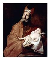 Saint Simeon with the Christ child Fine-Art Print