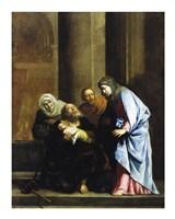 Simeon with the Infant Jesus Fine-Art Print