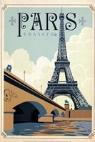 Paris Blue Fine-Art Print