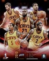 Cleveland Cavaliers 2015-16 Team Composite Fine-Art Print