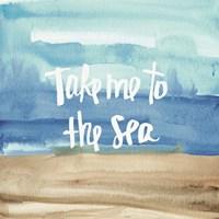 Coastal Breeze Quotes II Fine-Art Print
