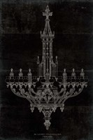 Ornamental Metal Work Chandelier Fine-Art Print