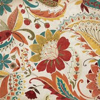 Boho Paisley Spice II Fine-Art Print