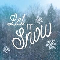 Let it Snow I Fine-Art Print