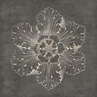 Rosette V Gray Fine-Art Print