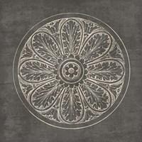 Rosette VIII Gray Fine-Art Print